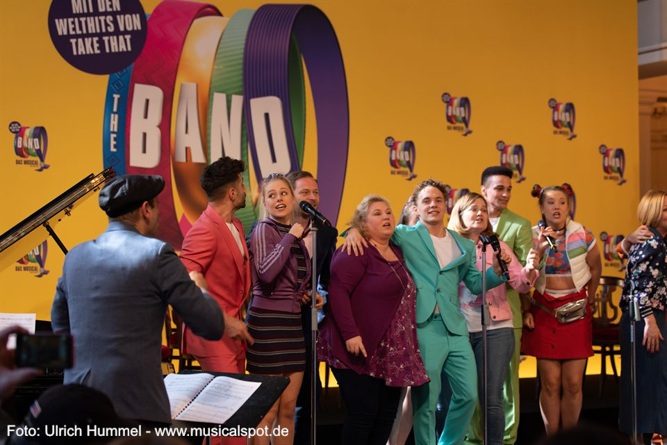 the band musical take that pressekonferenz berlin 2019 38